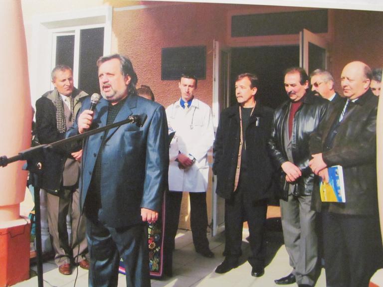 Виступає головний лікар Жовківської центральної районної лікарні Шевців Ігор Євгенович